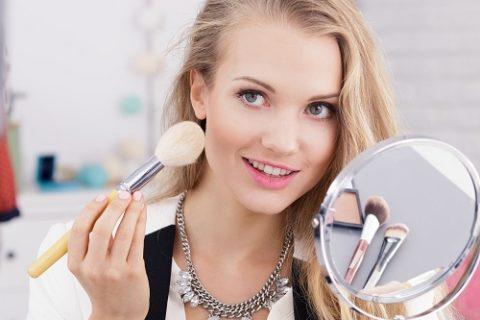 makijaż profesjonalnymi kosmetykami